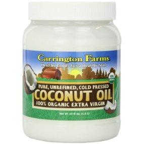 $15.19 Carrington Farms Organic Extra Virgin Coconut Oil, 54 Ounce