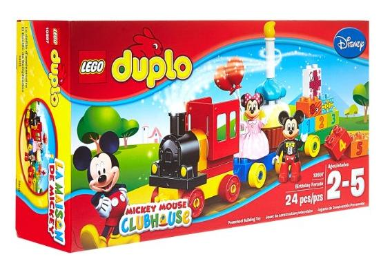 LEGO DUPLO Brand Disney 10597 Mickey and Minnie Birthday Parade Building Kit @ Amazon