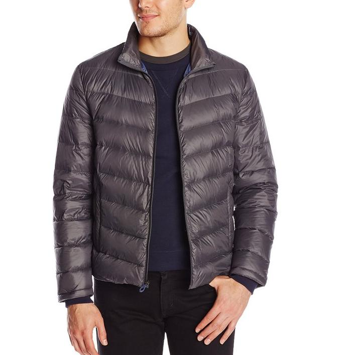 Kenneth Cole New York Men's Packable Down Jacket @ Amazon