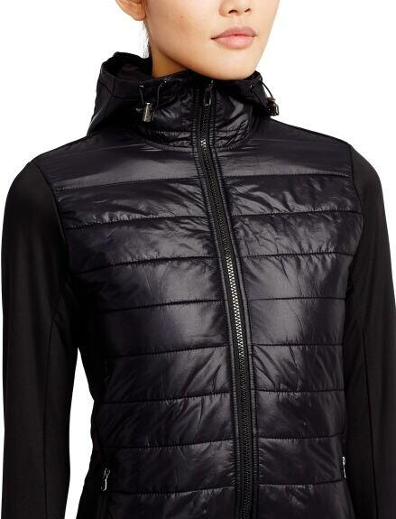 QUILTED-FRONT HYBRID JACKET @ Ralph Lauren