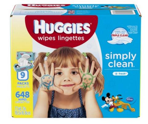 $4 Off Huggies Baby Wipes @ Amazon