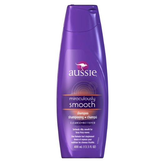 Aussie Miraculously Smooth Shampoo,13.5-Ounce Bottles (Pack of 6)