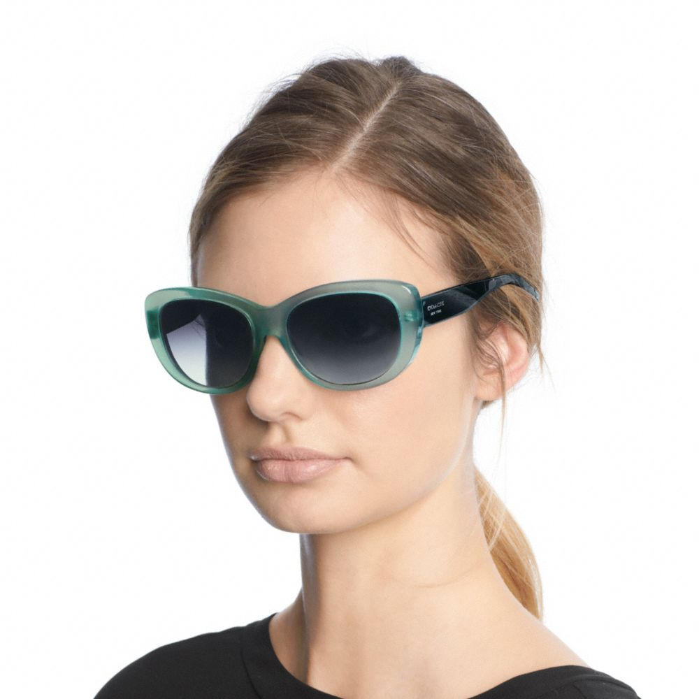 COACH Darcy Black Sunglasses