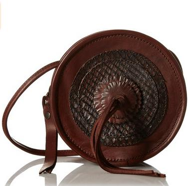 FRYE Layla Concho Circle Cross-Body Bag