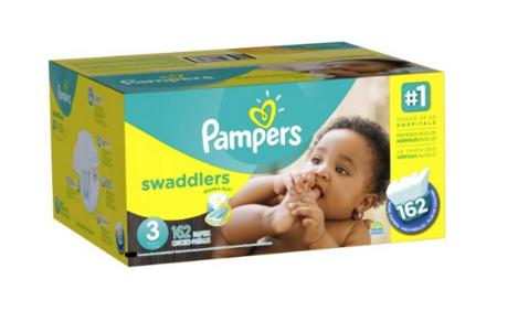 Prime Member Only! Extra 30% Off Pampers Diapers @ Amazon