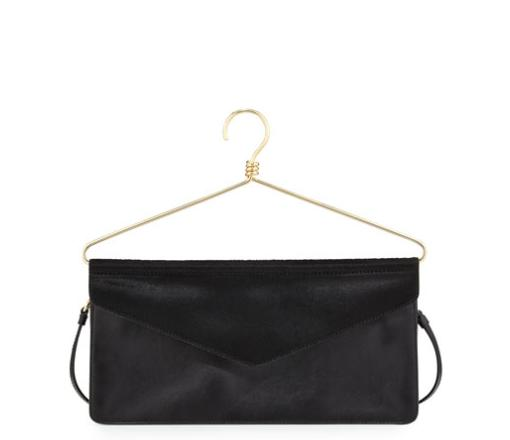 Moschino Hanger Crossbody Bag, Black @ Neiman Marcus
