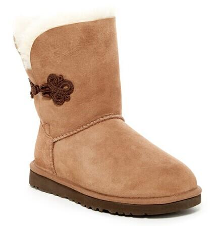 UGG Australia Bailey Mariko Genuine Sheepskin Boot @ Hautelook