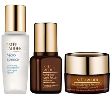 Free 7 Deluxe Samples ($120 Value) With Estée Lauder 'Get Started Now' Advanced Night Repair Essentials Set On Sale @ macys.com
