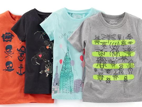 $5 & Up Graphic Tees @ OshKosh BGosh