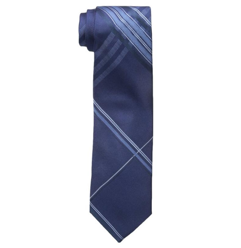 $14.99 Haggar Men's Silk Grid Tie@Amazon.com