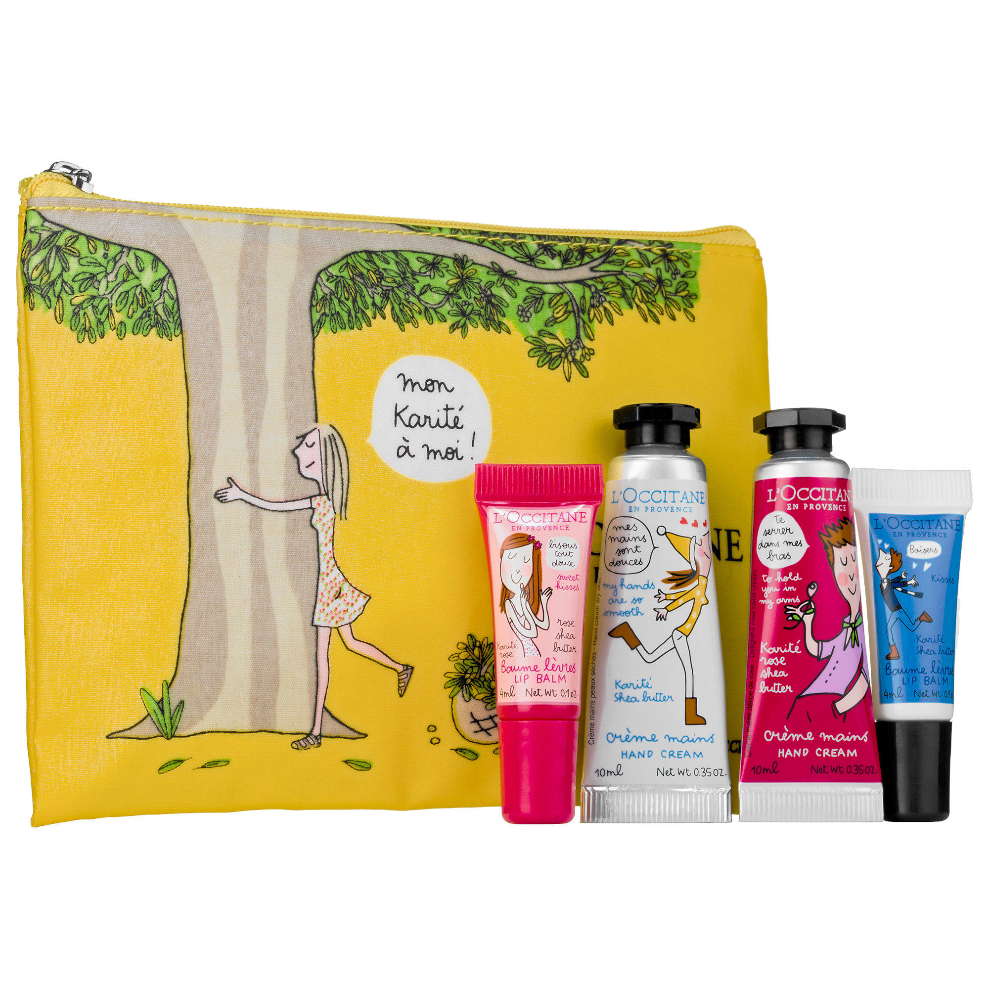 L'Occitane launched Hugs & Kisses Hand & Lip Duo Set
