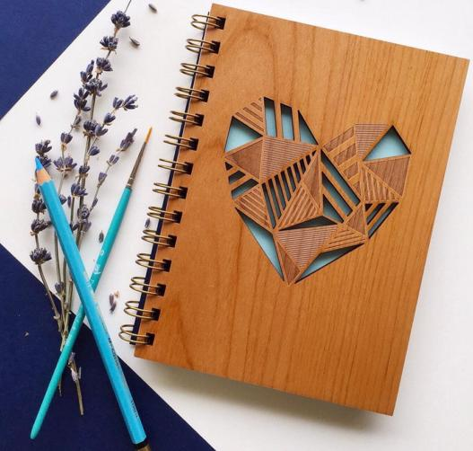 From $7.20 Cardtorial Handcrafted Wood Card & Notebook On Sale @ Nordstrom