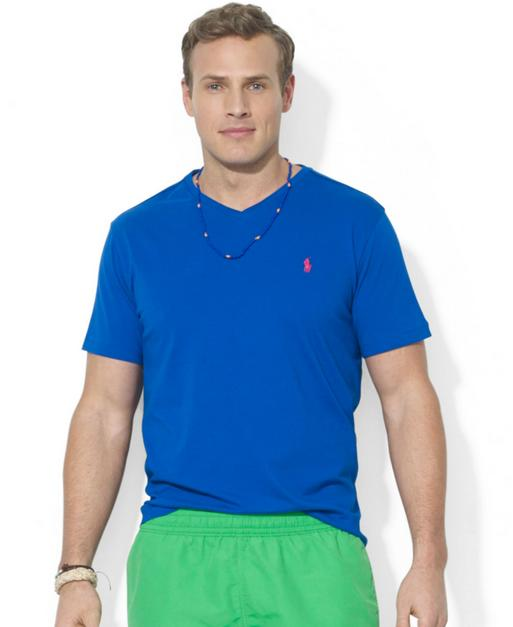 Ralph Lauren Classic-Fit Cotton V-Neck Tee