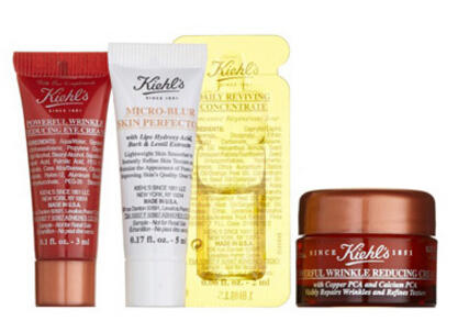 Free 4 Pc Gift+Free 28 Pc Gift with Qualifing Kiehl's and Beauty Purchase @Nordstrom