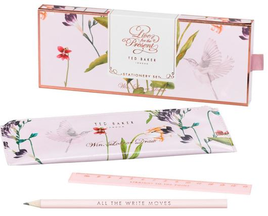 WILD AND WOLF Ted Baker Drawing Set with Storage Pouch On Sale @ Nordstrom