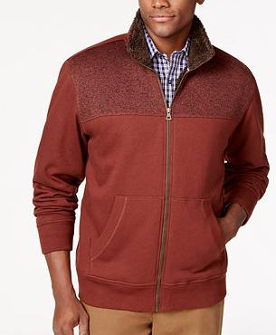 2 for $20 Men's Weatherproof Brand Sweater Jackets or Sherpa Hoodies