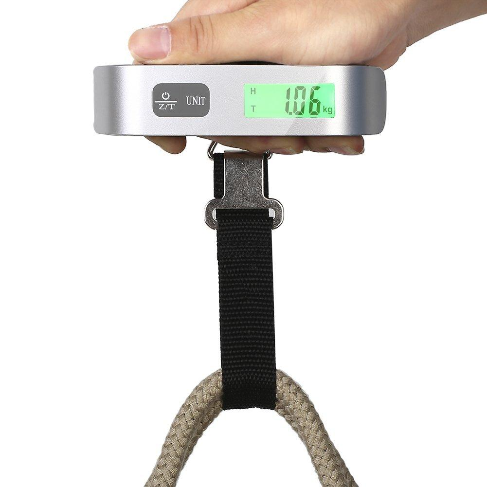 $6.50 Tiptiper Digital Portable Luggage Scale