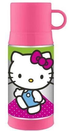 Thermos Funtainer 12 Ounce Warm Beverage Bottle, Hello Kitty
