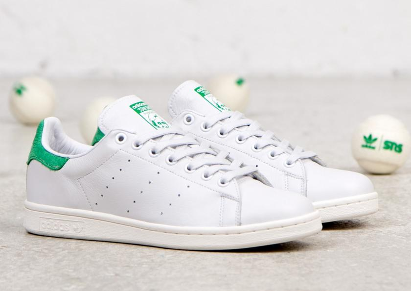 $74.99 Adidas Originals Stan Smith in White/Green M20324
