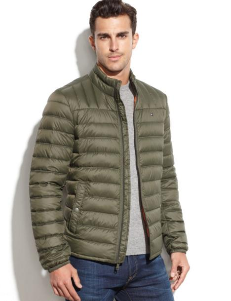 Tommy Hilfiger Men's Packable Down Jacket @ Amazon