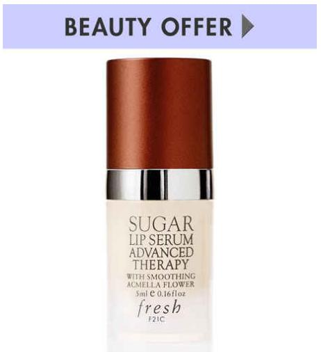 Free Deluxe Sugar Lip Serum, 5 mL with any $30 or more Fresh purchase @ Neiman Marcus