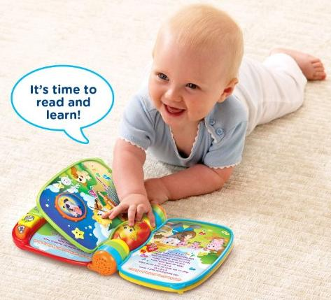 VTech Musical Rhymes Book @ Amazon