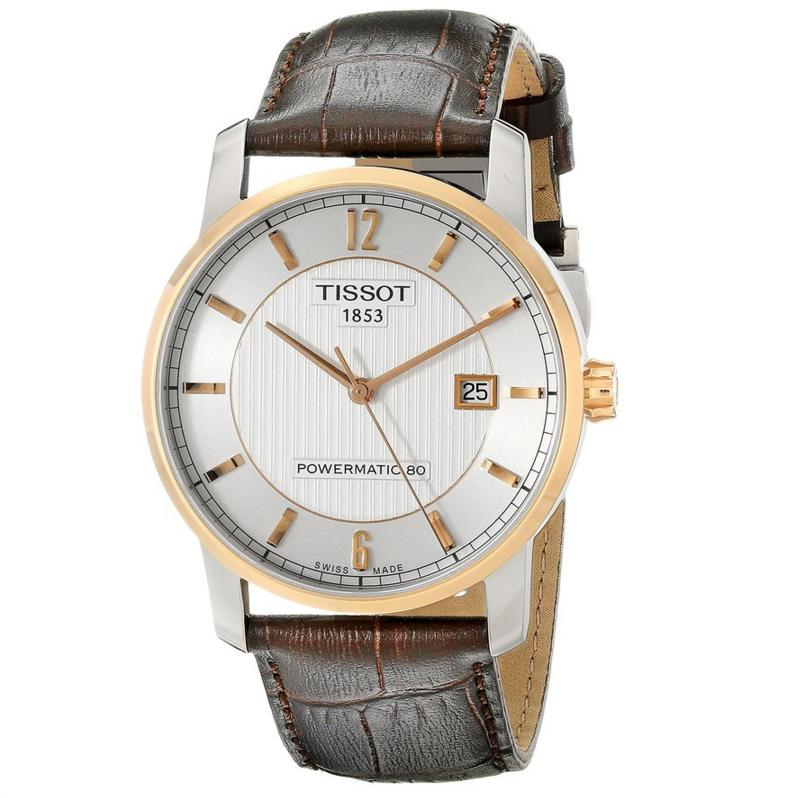 Lowest price! Tissot Men's T-Classic Analog Display Swiss Automatic Brown Watch