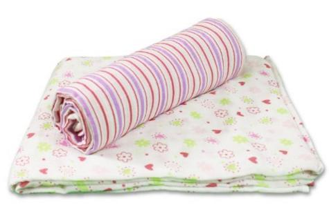 Spasilk 100% Cotton Muslin Swaddle Blankets @ Amazon