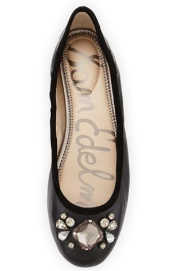 Sam Edelman  Fauna Rhinestone-Embellished Fla On Sale @ LastCall by Neiman Marcus
