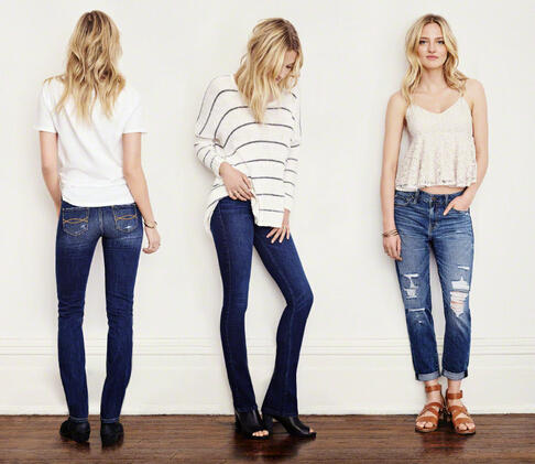 Buy 1 Get 1 $10 on Jeans @ Abercrombie & Fitch