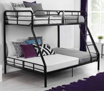 $135 + Free Shipping Mainstays Twin Over Full Bunk Bed
