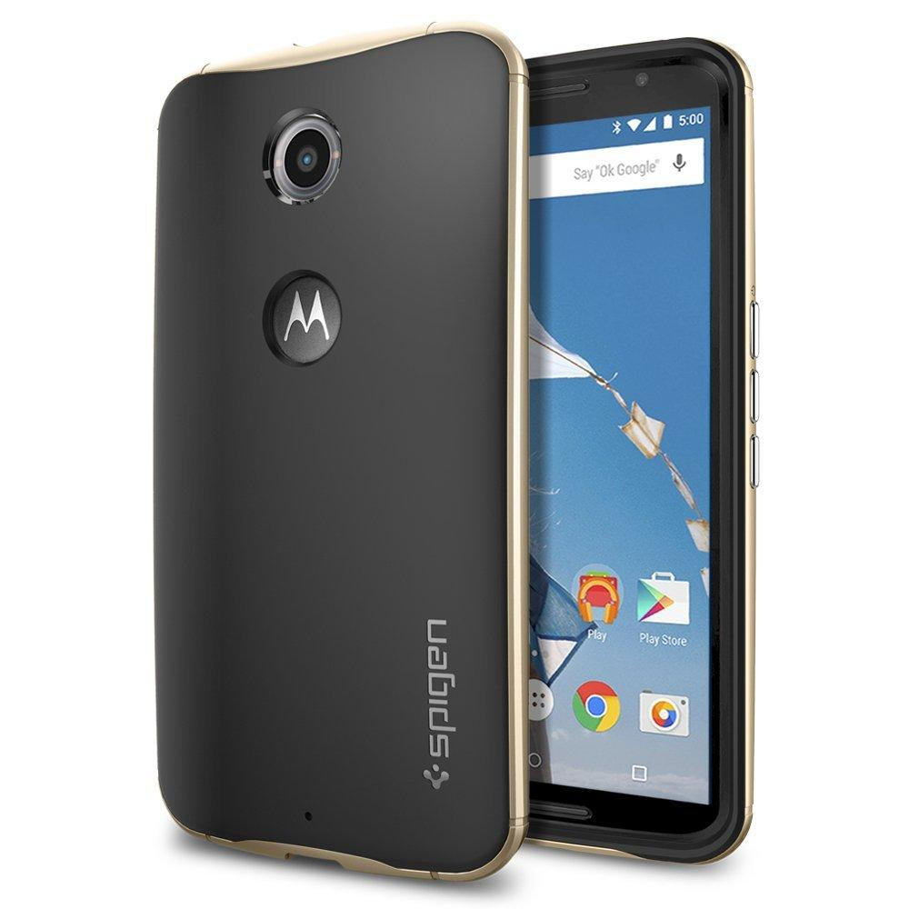 As low as $3.50 Spigen cases for Nexus 6 Phone