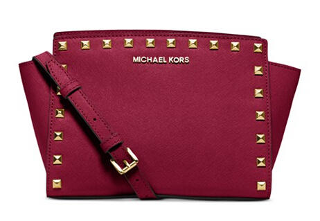 Up to 45% Off Select MICHEL Michael Kors Handbags in Cherry @ macys.com