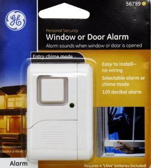 GE Personal Security Window/Door Alarm (2 pack)