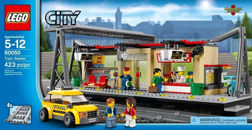 $40.98 LEGO City Trains Train Station 60050 Building Toy