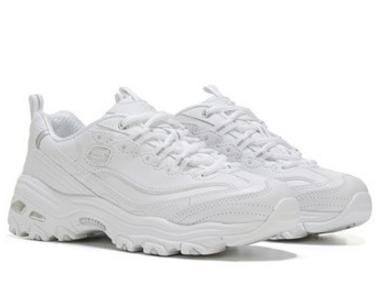 SKECHERS Work D'Lite SR White Women's Sneaker