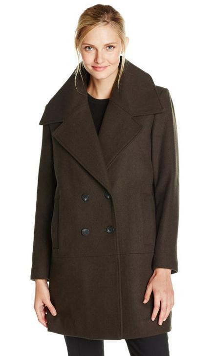 From $41.45 Marc New York by Andrew Marc Women's Natalie Double-Breasted Coat