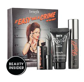 Redeem your Points Free Benefit Cosmetics They're Real! Sample Set  @ Sephora.com