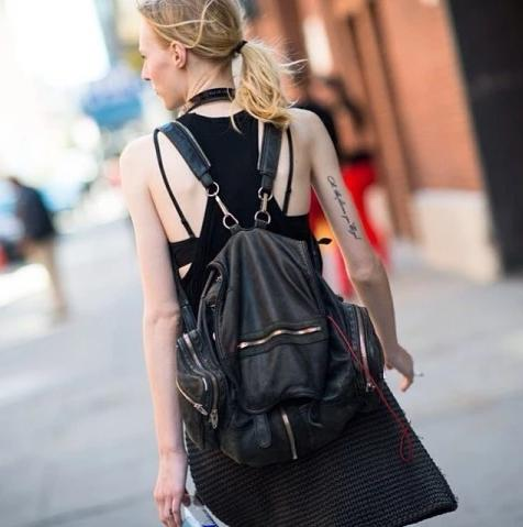 Up to $500 Gift Card Alexander Wang Marti Backpack @ Neiman Marcus