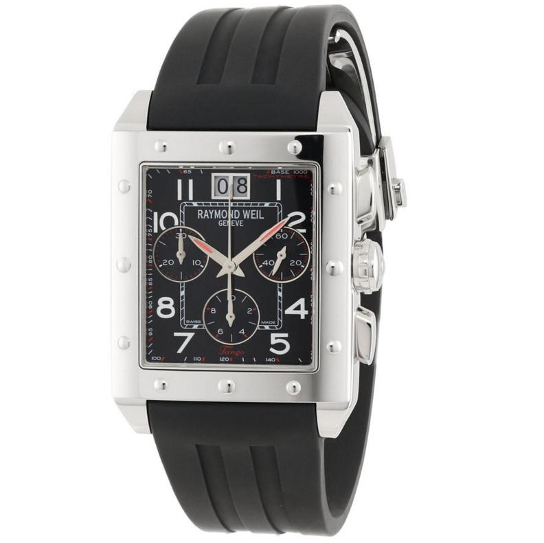 Lightning deal-Raymond Weil Men's Sporty Chronograph Watch