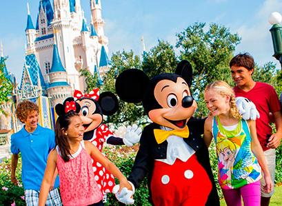 From $252 Orlando 4 Nights Hotel Near Disney with Air