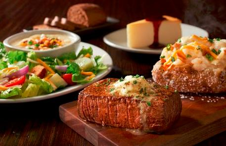 Starting at $14.99 4 Courses @ Outback Steakhouse