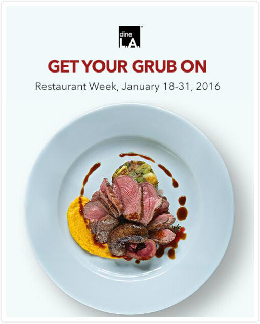 January 18-31, 2016 dineL.A Restaurant Week