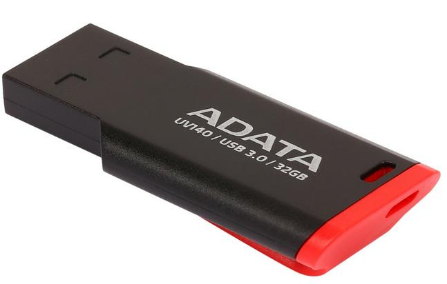 ADATA USA UV140 32GB USB 3.0 Flash Drive, AUV140-32G-RKD