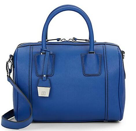 Ivanka Trump Doral Saffiano Leather Barrel Satchel @ Saks Off 5th
