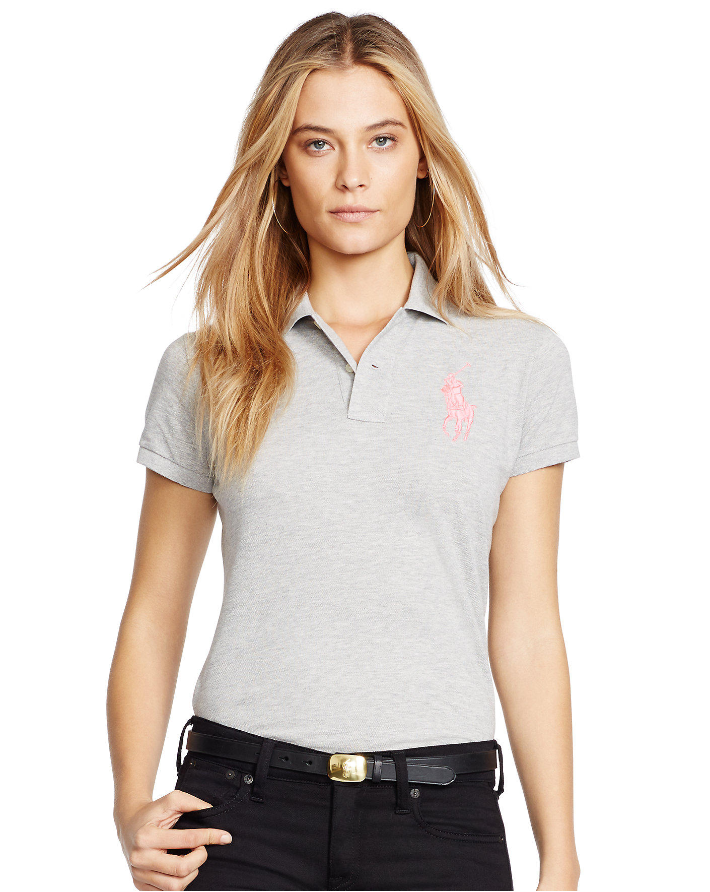 Ralph Lauren Pink Pony Polo Shirt