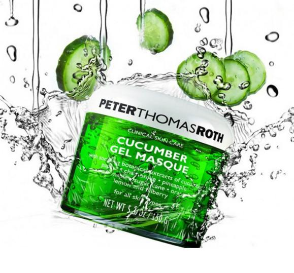 20% off Peter Thomas Roth Orders Over $60 and Free Peter Thomas Roth Cucumber Gel Mask @ B-Glowing