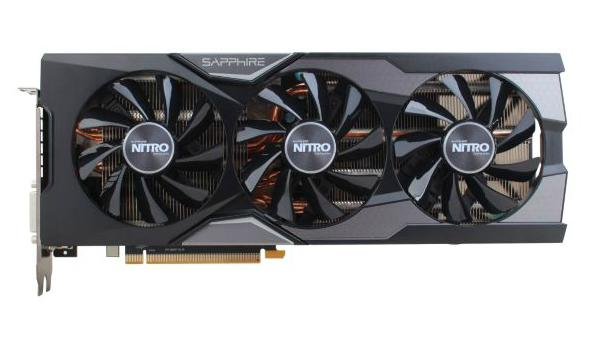 SAPPHIRE NITRO Radeon R9 Fury 4GB 4096-Bit HBM Video Card