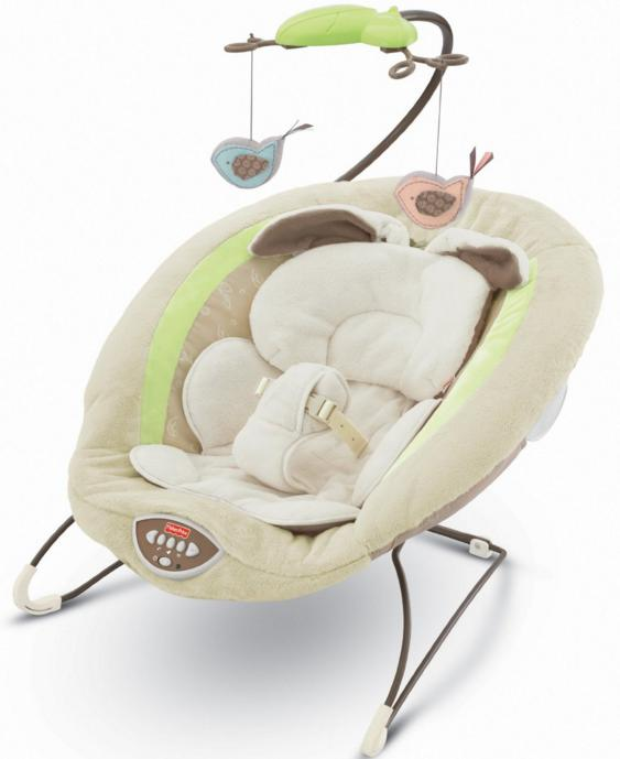 Fisher-Price My Little Snugabunny Deluxe Bouncer @ Amazon