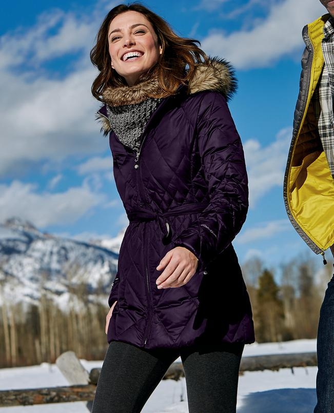 Eddie Bauer Women's Slope Side® Down Parka
